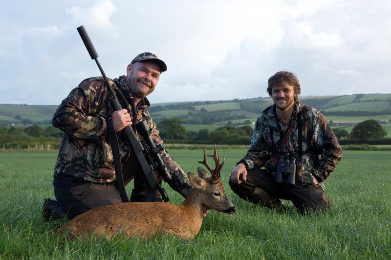 Succesfuld jagt i Dorset