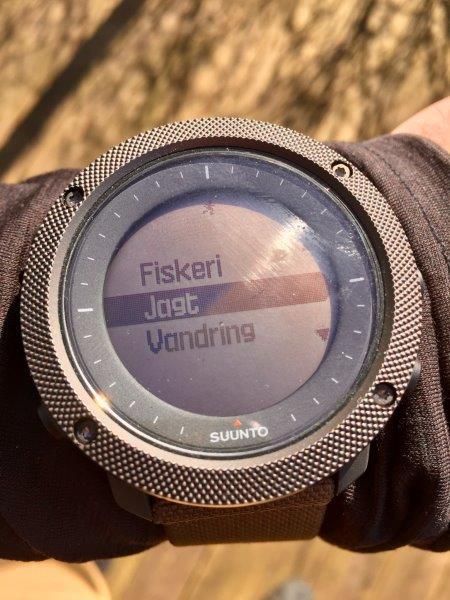 Suunto Traverse Alpa GPS ur har alle de funktioner du har brug for