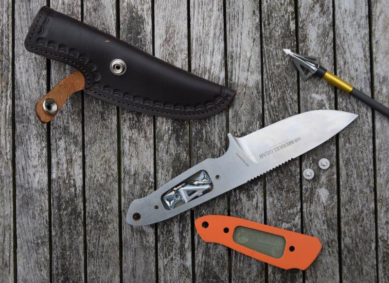 Merkel Gear G10 kniv