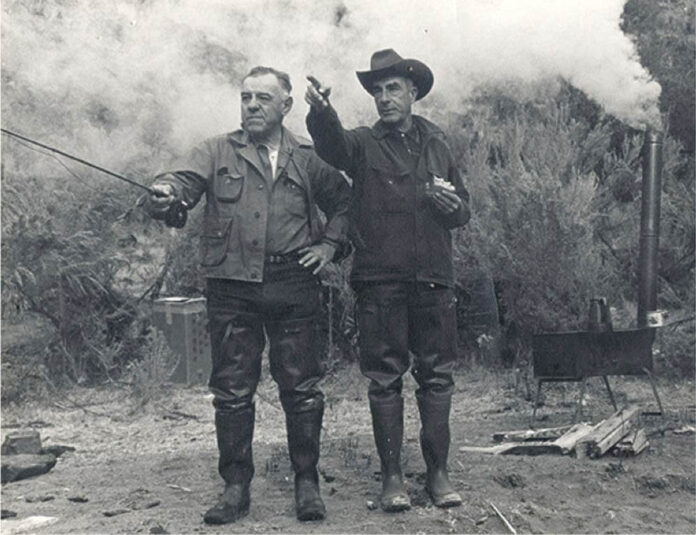 Marcus Leupold og John Stevens.